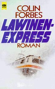 Cover of: Lawinenexpress
