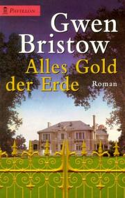 Cover of: Alles Gold der Erde.