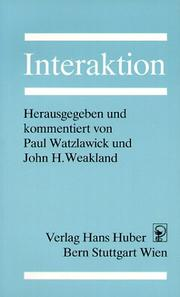 Cover of: Interaktion.