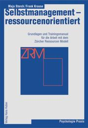 Cover of: Selbstmanagement - ressourcenorientiert.