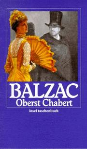 Cover of: Oberst Chabert