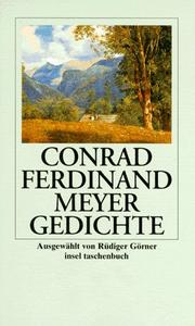Cover of: Gedichte.