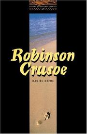 Cover of: Robinson Crusoe.