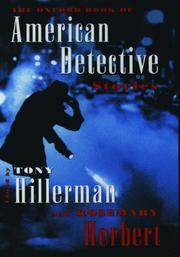 Cover of: The Oxford book of American detective stories