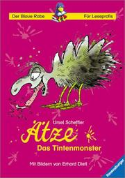 Cover of: Ätze, das Tintenmonster. ( Ab 8 J.).