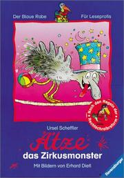 Cover of: Ätze, das Zirkusmonster. ( Ab 8 J.).