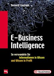 Cover of: E- Business Intelligence.