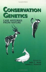 Cover of: Conservation genetics