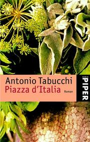 Cover of: Piazza d' Italia.
