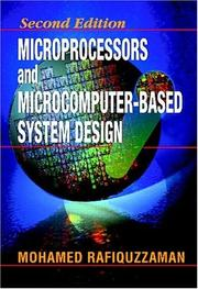 Cover of: Microprocessors and microcomputer-based system design