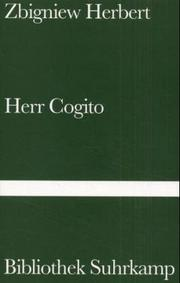 Cover of: Herr Cogito