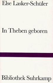 Cover of: In Theben geboren
