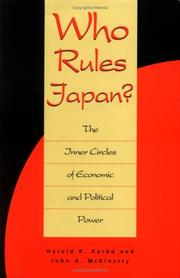 Cover of: Who rules Japan?