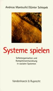 Cover of: Systeme spielen.