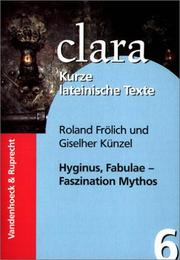 Cover of: Fabulae. Faszination Mythos. (Lernmaterialien)