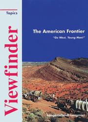 Cover of: Viewfinder Topics, The American Frontier