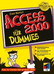 Cover of: Access 2000 Für Dummies