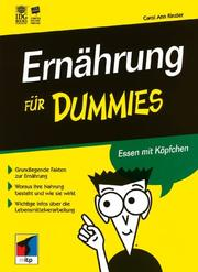 Cover of: Ernahrung Fur Dummies