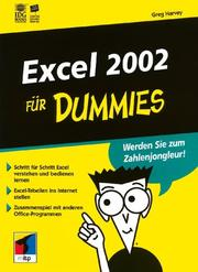 Cover of: Excel 2002 Für Dummies
