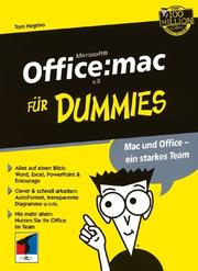 Cover of: Office:Mac V.X Fur Dummies