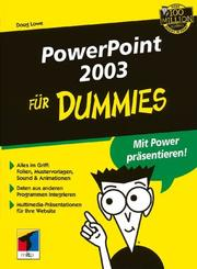 Cover of: PowerPoint 2003 Fur Dummies
