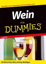 Cover of: Wein Fur Dummies