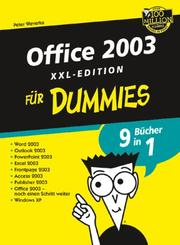 Cover of: Office 2003 Fur Dummies, XXL-Edition (Fur Dummies)