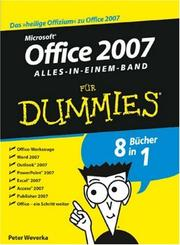 Cover of: Office 2007 Fur Dummies
