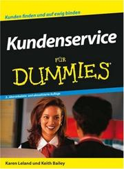 Cover of: Kundenservice Fur Dummies