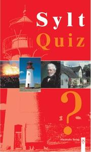 Cover of: Sylt Quiz.