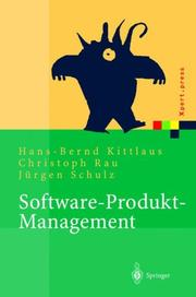 Cover of: Software-Produkt-Management