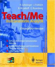 Cover of: Teach/Me - Instrumentelle Analytik