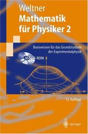 Cover of: Mathematik für Physiker 2