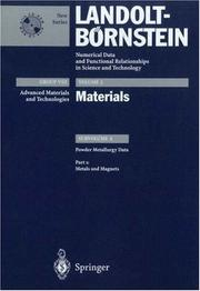 Cover of: Metals and Magnets