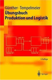 Cover of: Übungsbuch Produktion und Logistik (Springer-Lehrbuch)