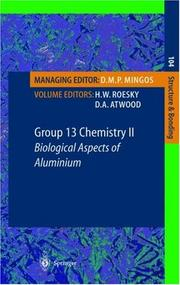Cover of: Group 13 Chemistry II
