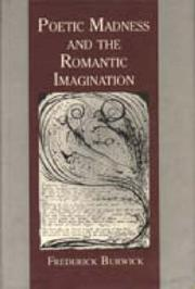 Cover of: Poetic madness and the Romantic imagination
