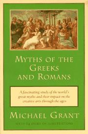 Cover of: Myths of the Greeks and Romans