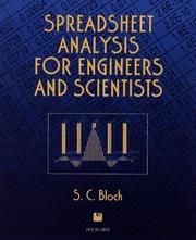 Cover of: Spreadsheet analysis for engineers and scientists