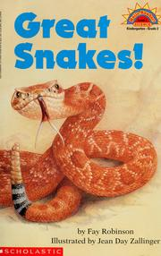 Cover of: Great snakes!