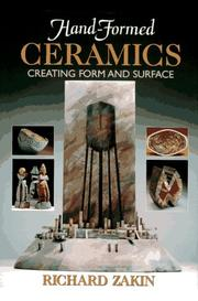Cover of: Hand-formed ceramics