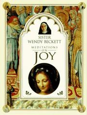 Cover of: Meditations on joy
