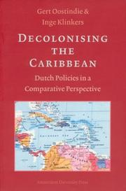 Cover of: Decolonising the Caribbean