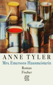 Cover of: Mrs. Emersons Hausmeisterin