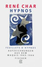 Cover of: Hypnos.
