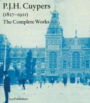Cover of: P.J.H. Cuypers 1827-1921
