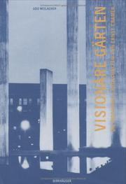 Cover of: Visionäre Gärten