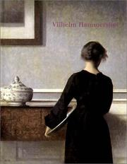 Cover of: Vilhem Hammershoei.