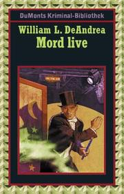 Cover of: Mord live. Matt Cob Serie
