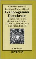 Cover of: Lernprogramm Demokratie.